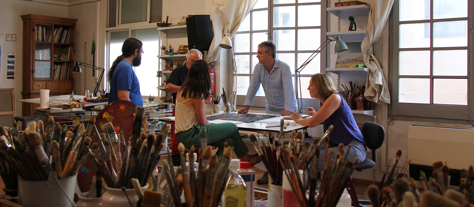 painting holidays in spain